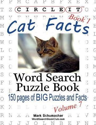 Circle It, Cat Facts, Book 1, Word Search, Puzzle Book