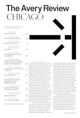 The Avery Review - Chicago