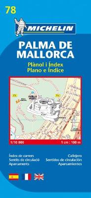 Palma de Mallorca - Michelin City Plan 78: City Plans