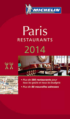 2014 Red Guide Paris (Language: French)