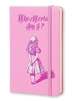 Limited Edition Pocket Alice in Wonderland Ruled Notebook