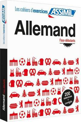 Cahier d'exercices ALLEMAND - faux-debutants