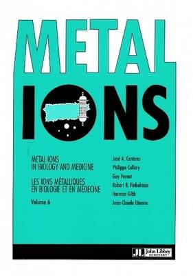 Metal Ions in Biology and Medicine: v. 6