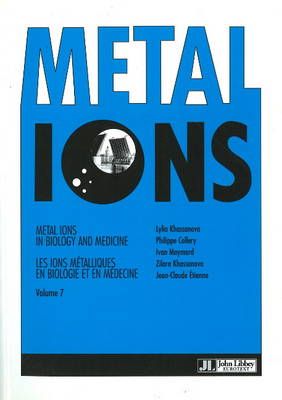 Metal Ions in Biology and Medicine: v. 7