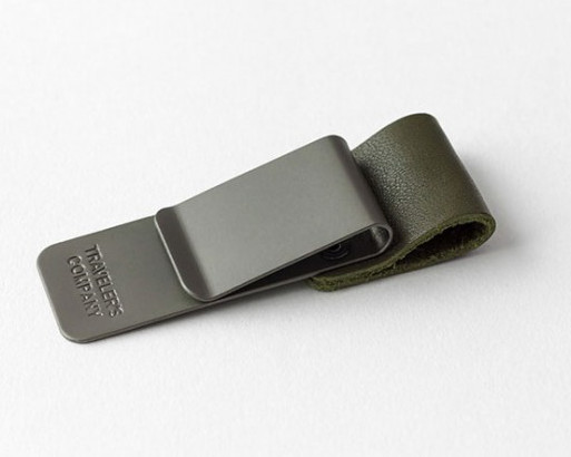 Traveler's Notebook Pen Holder M Olive Limited Edition