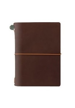 Traveller's Passport Size Notebook Brown
