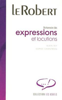 Expressions Et Locutions: Large Flexi-Bound Edition