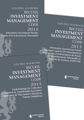 Recueil Investment Management Code - Tomes 1 - 2 - 3