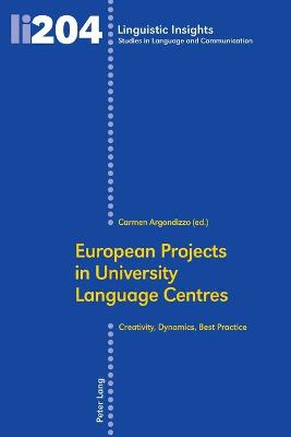 European Projects in University Language Centres: Creativity, Dynamics, Best Practice