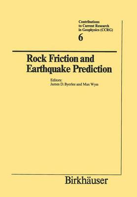 Rock Friction and Earthquake Prediction