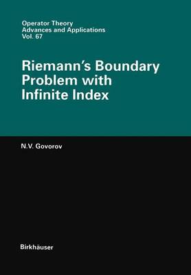 Riemann's Boundary Problem with Infinite Index