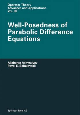 Well-Posedness of Parabolic Difference Equations