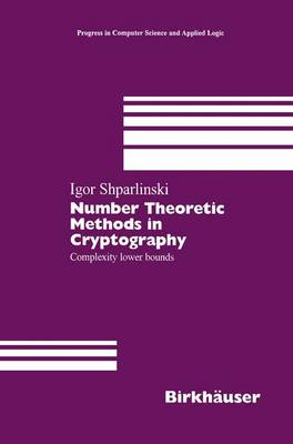 Number Theoretic Methods in Cryptography: Complexity lower bounds