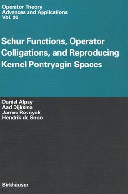 Schur Functions, Operator Colligations, and Reproducing Kernel Pontryagin Spaces