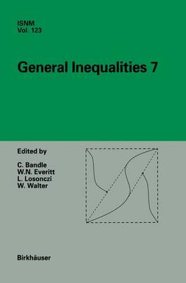 General Inequalities 7: 7th International Conference at Oberwolfach, November 13-18, 1995