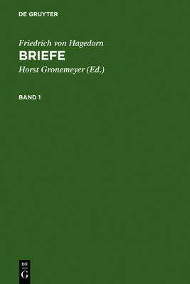 Briefe: Bd. 1: Text. Bd. 2: Apparat/Kommmentar