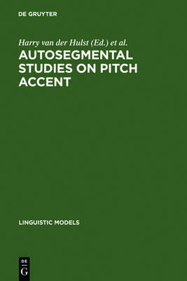 Autosegmental Studies on Pitch Accent