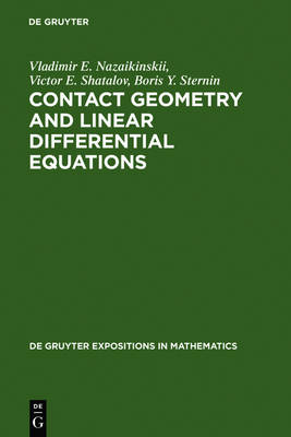 Contact Geometry and Linear Differential Equations