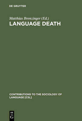 Language Death: Factual and Theoretical Explorations with Special Reference to East Africa
