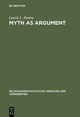 Myth as Argument: The Brhaddevata as Canonical Commentary