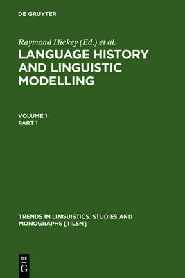 Language History and Linguistic Modelling: A Festschrift for Jacek Fisiak on His 60th Birthday: Vol.1