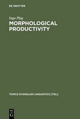 Morphological Productivity: Structural Constraints in English Derivation