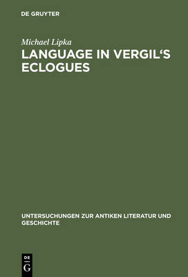 Language in Vergil's Eclogues
