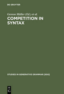 Competition in Syntax