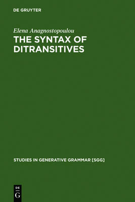 The Syntax of Ditransitives: Evidence from Clitics