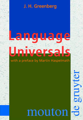 Language Universals: With Special Reference to Feature Hierarchies