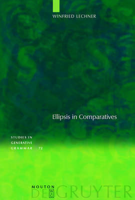 Ellipsis in Comparatives