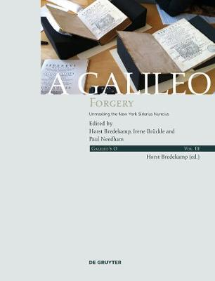 A Galileo Forgery: Unmasking the New York Sidereus Nuncius