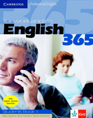English365 1 Student's Book Klett Version: For Work and Life