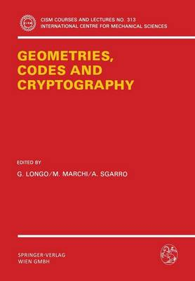 Geometries, Codes and Cryptography: Meeting : Papers