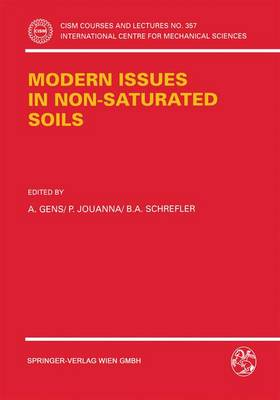 Modern Issues in Non-Saturated Soils