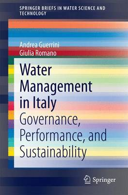 Water Management in Italy: Governance, Performance, and Sustainability
