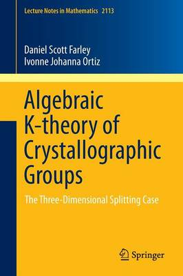 Algebraic K-theory of Crystallographic Groups: The Three-Dimensional Splitting Case