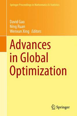 Advances in Global Optimization