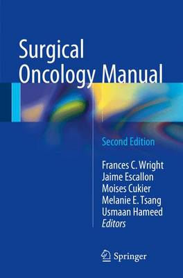 Surgical Oncology Manual: 2016