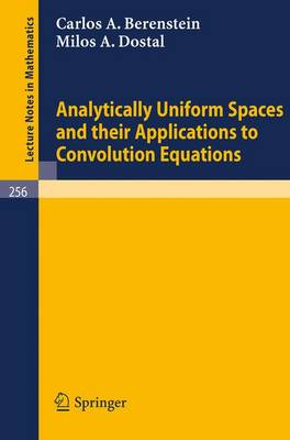 Analytically Uniform Spaces and Their Applications to Convolution Equations