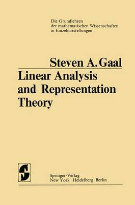 Linear Analysis and Representation Theory