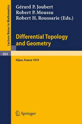 Differential Topology and Geometry: Proceedings
