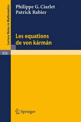 Les Equations De Von Karman
