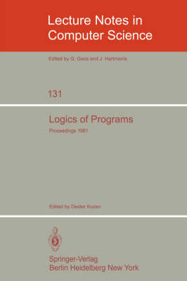 Logics of Programs: Workshop, Yorktown Heights, NY, USA