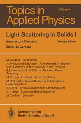 Light Scattering in Solids I: Introductory Concepts
