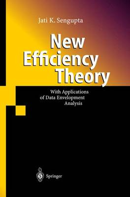 New Efficiency Theory: With Applications of Data Envelopment Analysis