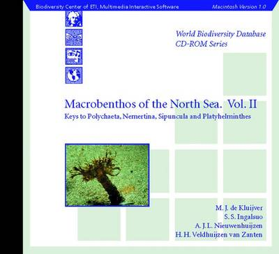 Macrobenthos of the North Sea Vol.II: Keys to Polychaeta, Nemertina, Sipuncula, Platyhelminthes and miscellaneous worm-like groups