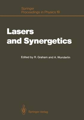 Lasers and Synergetics: A Colloquium on Coherence and Self-organization in Nature