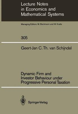 Dynamic Firm and Investor Behaviour under Progressive Personal Taxation