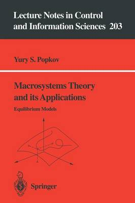 Macrosystems Theory and its Applications: Equilibrium Models